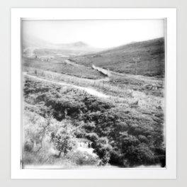 Cairngorm Highlands Art Print