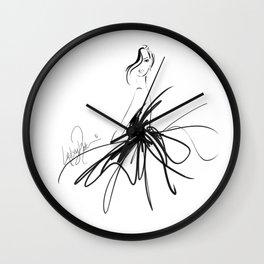 Full Skirt Wall Clock