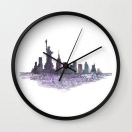 Love New York Wall Clock