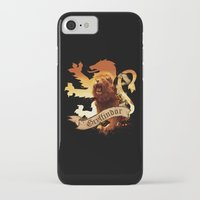 gryffindor iPhone & iPod Cases featuring Gryffindor by Markusian