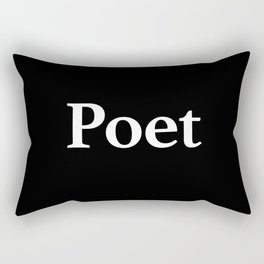 Poet inverse Rectangular Pillow