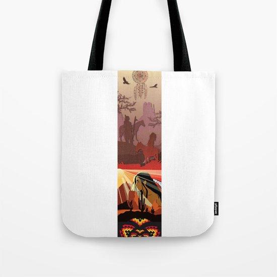 An American Native Story Tote Bag