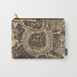 Vintage Map of Vienna Austria (1907) Carry-All Pouch
