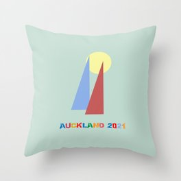 Auckland 2021 Throw Pillow