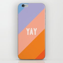YAY Sunset Gradient iPhone Skin