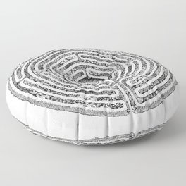Chartres Garden Floor Pillow
