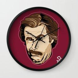 Ron Burgundy/Stay Classy Wall Clock