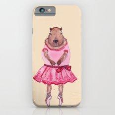 Capybara Ballerina  iPhone 6s Slim Case