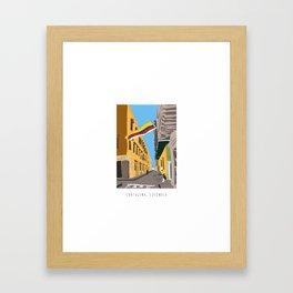 Cartagena de Indias, Colombia Mini Framed Art Print