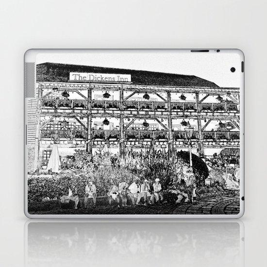 The Dickens Inn Pub London Laptop & iPad Skin