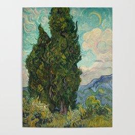 Cypresses - Van Gogh Poster