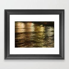 Night Light 137 - Water Framed Art Print