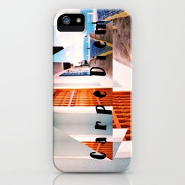 Carpe Diem in Puerto Rico iPhone Case