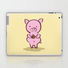 Piggies Love To Eat Laptop & iPad Skin