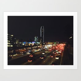 DOWNTOWN L.A. - PHOTOGRAPHY Art Print