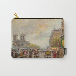Notre Dame Cathedral, Paris, France by Antone Blanchard Carry-All Pouch