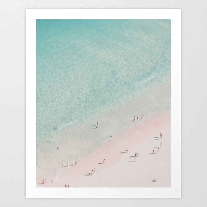 beach - summer of love III Art Print