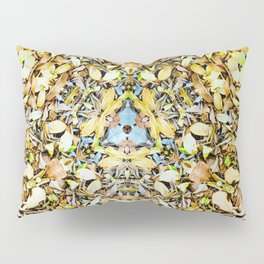A Circle of Leaves Pillow Sham