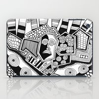 potato iPad Cases featuring Mashed potato by Brabs