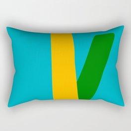 Mid Century Modern 9 Rectangular Pillow