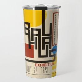 Bauhaus Poster I Travel Mug