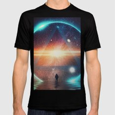 seeing the lights Black X-LARGE Mens Fitted Tee