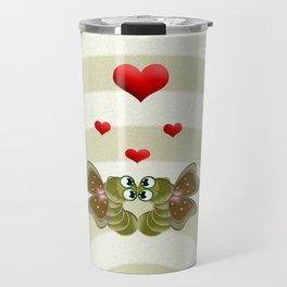 Caterpillars's Love Travel Mug