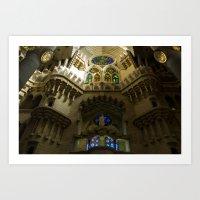 Sagrada Familia #5 Art Print