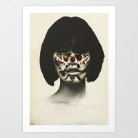 Bow & scrape (2015)  Art Print