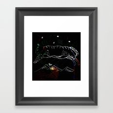 leap dream Framed Art Print