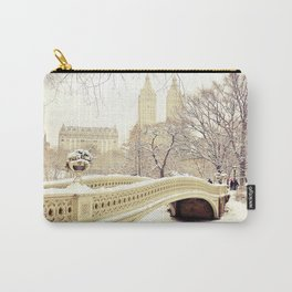 New York City Snow Wonderland Carry-All Pouch