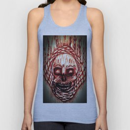 Hell bound Skull Unisex Tank Top