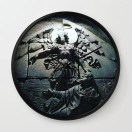In the Presence of the Angels Wall Clock