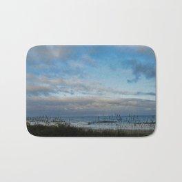 Winter Day in Myrtle Beach, SC, USA Bath Mat