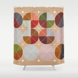 'Joy'metric Decor Shower Curtain