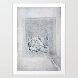 Under Grey is Blue Art Print