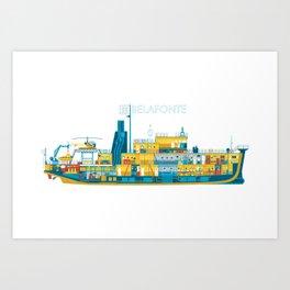 BELAFONTE - The Life Aquatic with Steve Zissou Art Print