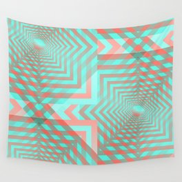 21 E=Codes4 Wall Tapestry