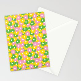 Mod Ditsy Daisies Stationery Cards