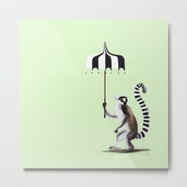 Ring Tailed Lemur Metal Print
