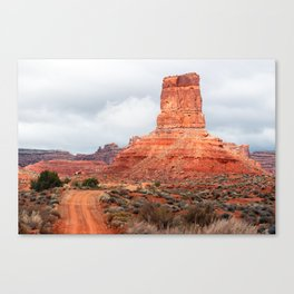 In the Valley of the Gods Canvas Print