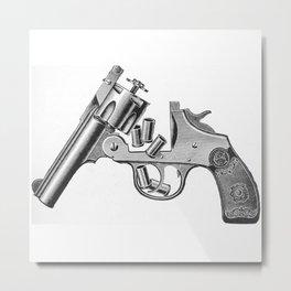 Revolver 3 Metal Print