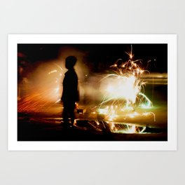 Child within Art Print