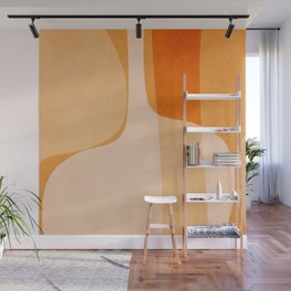 Abstract vases Wall Mural