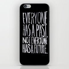 Past/Future iPhone & iPod Skin