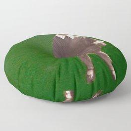 Green nostalgia Floor Pillow