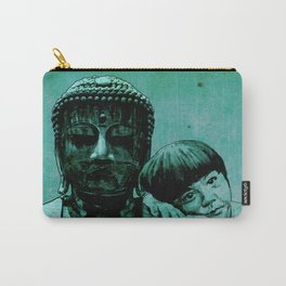 BUDDHA GIRL - SILENCE - quote Carry-All Pouch