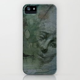 Homage to Renée Jeanne Falconetti iPhone Case