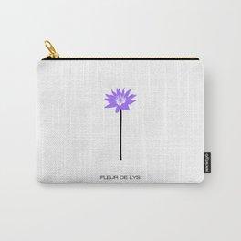 Fluer De Lys Carry-All Pouch