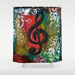 Create Music  Shower Curtain